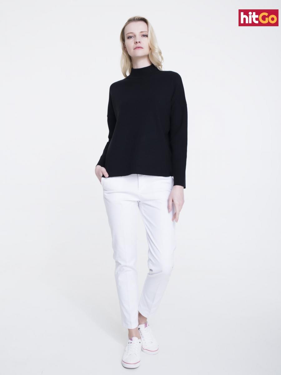 Big Star Womans Sweater 161995 -906 dámské Black M