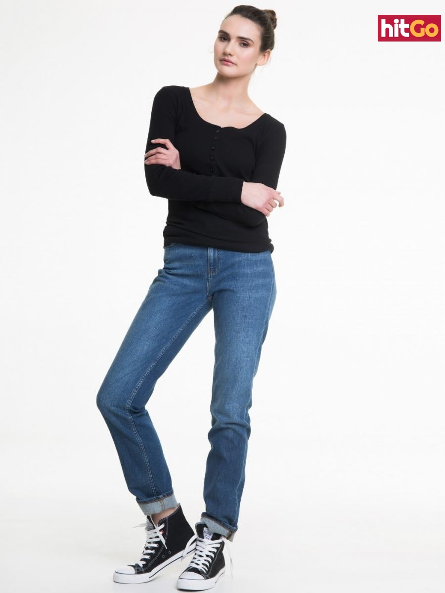 Big Star Womans Trousers 115464 -369 dámské Medium Jeans W32 L32