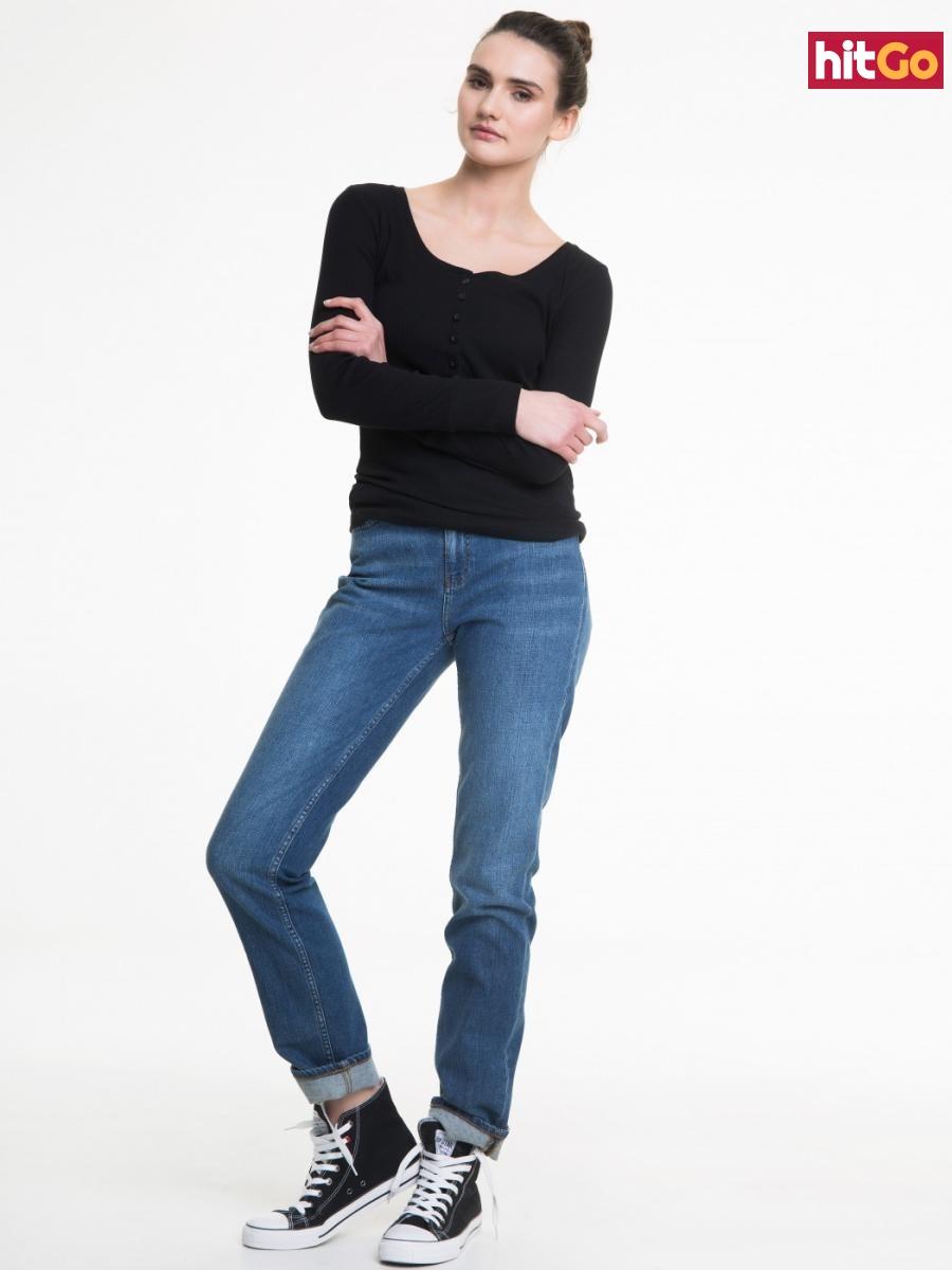 Big Star Womans Trousers 115464 -369 dámské Medium Jeans W38 L30