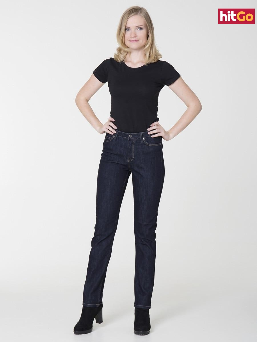 Big Star Womans Trousers 115464 -615 dámské Dark Jeans W27 L32