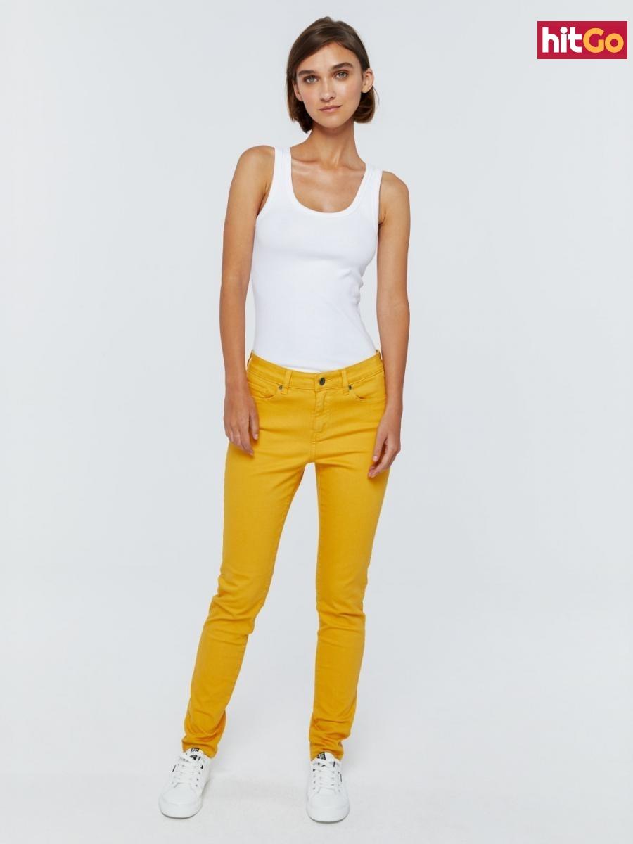 Big Star Womans Trousers 115490 Light Jeans-202 dámské Blue W26 L32