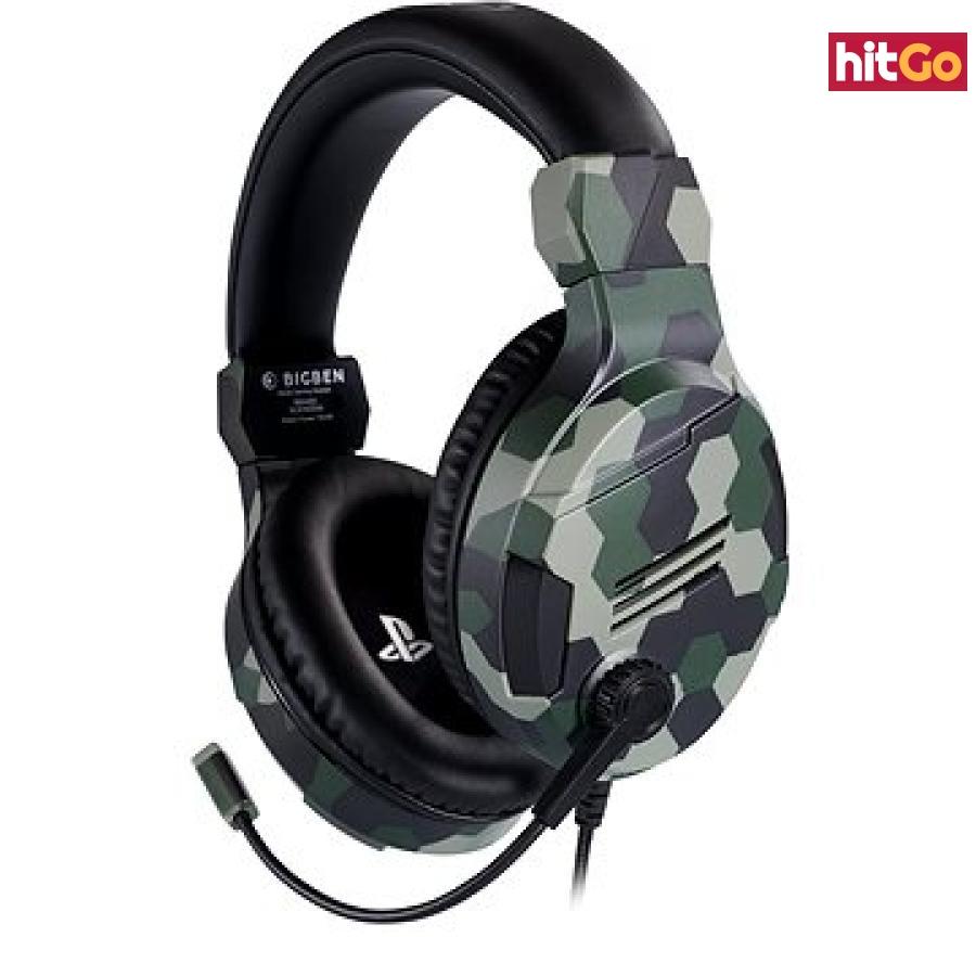 BigBen PS4 Stereo-Headset v3 - zelený
