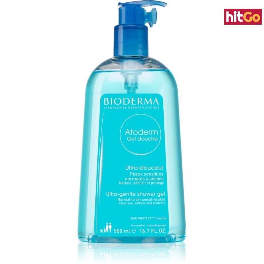 Bioderma Atoderm Sprchový Gel jemný sprchový gel pro suchou a citlivou pokožku 500 ml dámské 500 ml