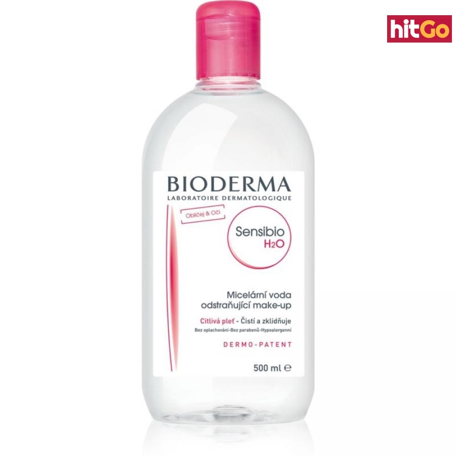 Bioderma Sensibio H2O micelární voda pro citlivou pleť 500 ml dámské 500 ml