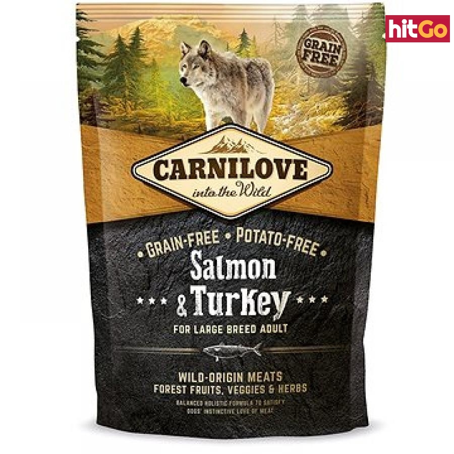 Carnilove salmon & turkey for large breed adult 1,5 kg