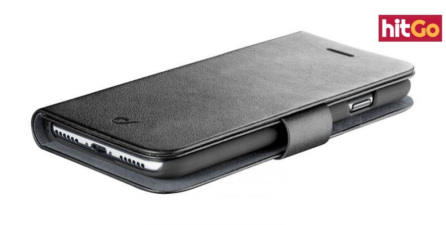 CellularLine Book Agenda flipové pouzdro pro Apple iPhone 11, černá