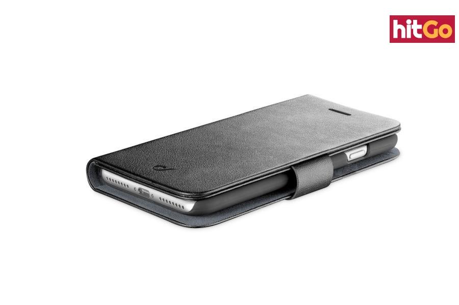 CellularLine Book Agenda flipové pouzdro pro Apple iPhone XR, černá