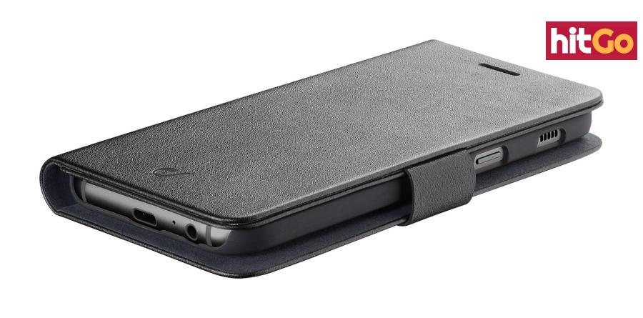 CellularLine Book Agenda flipové pouzdro pro Samsung Galaxy A6 2018, černá
