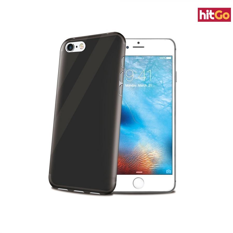 CELLY Gelskin silikonové pouzdro pro Apple iPhone 7, černé