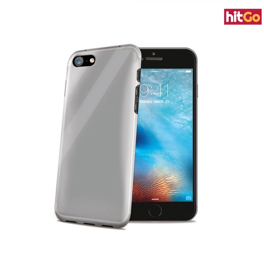 CELLY Gelskin silikonové pouzdro pro Apple iPhone 7 Plus, bezbarvé