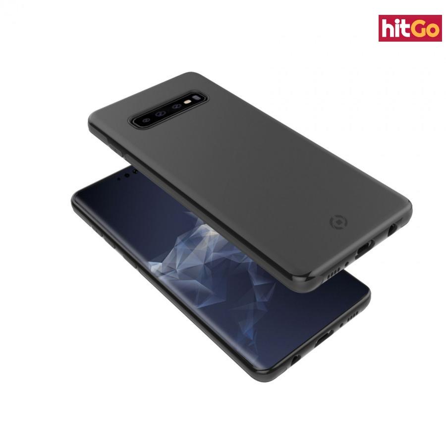CELLY GHOSTSKIN Zadní magnetický kryt pro Samsung Galaxy S10 , černý