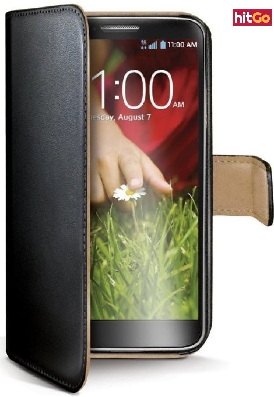 CELLY Wally flipové pouzdro pro Microsoft Lumia 430 černé