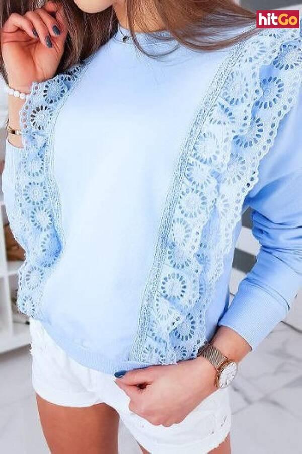 CORMIN womens blue sweatshirt BY0342 dámské Neurčeno One size