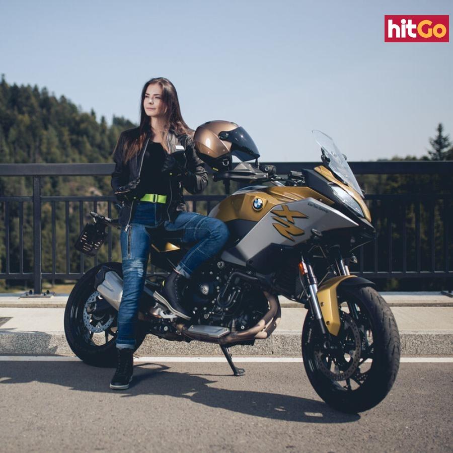 Dámská Kožená Moto Bunda W-Tec Hagora  L  Matně Černá L