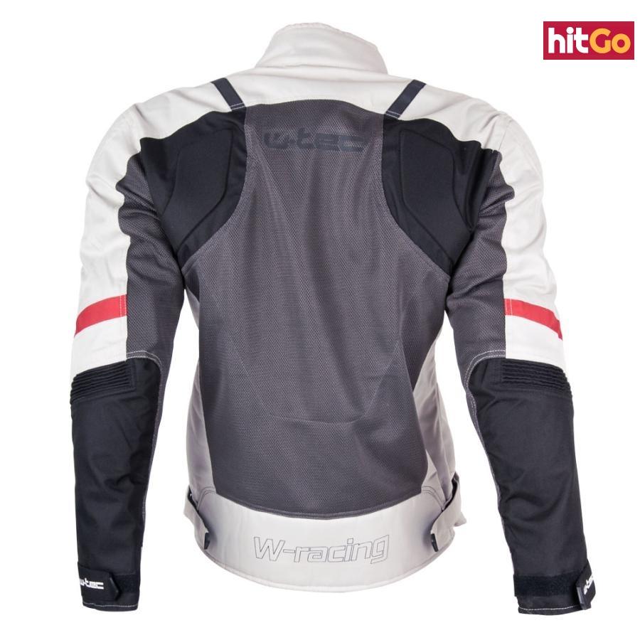 Dámská Moto Bunda W-Tec Lucina  Černo-Bílá  S S