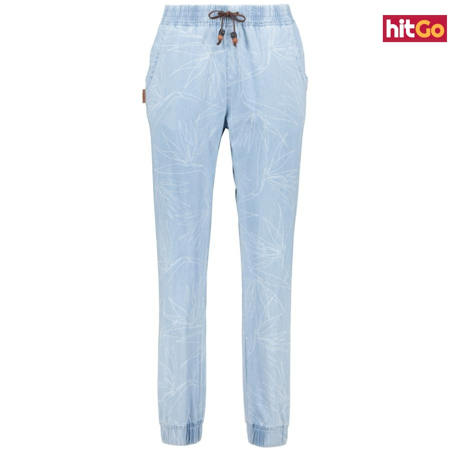 Dámské kalhoty ALIFE AND KICKIN Alicia DNM dámské bílá   šedá XL