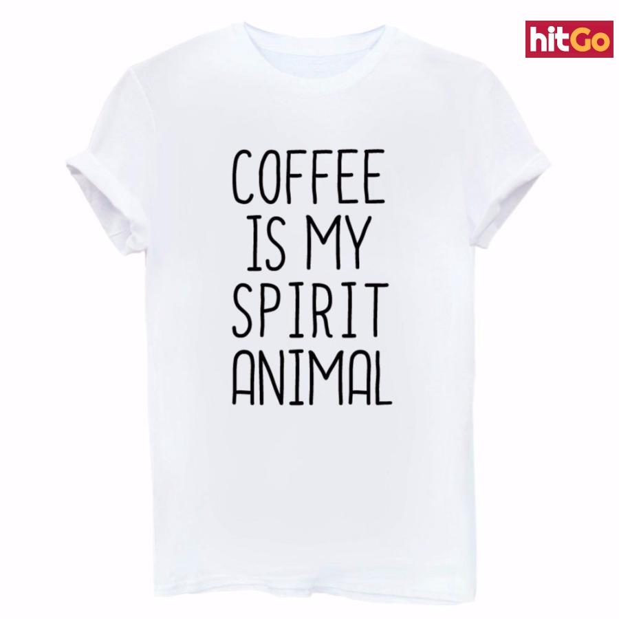 Dámské tričko pro milovnice kávy - 3 barvy Barva: černá, Velikost: M