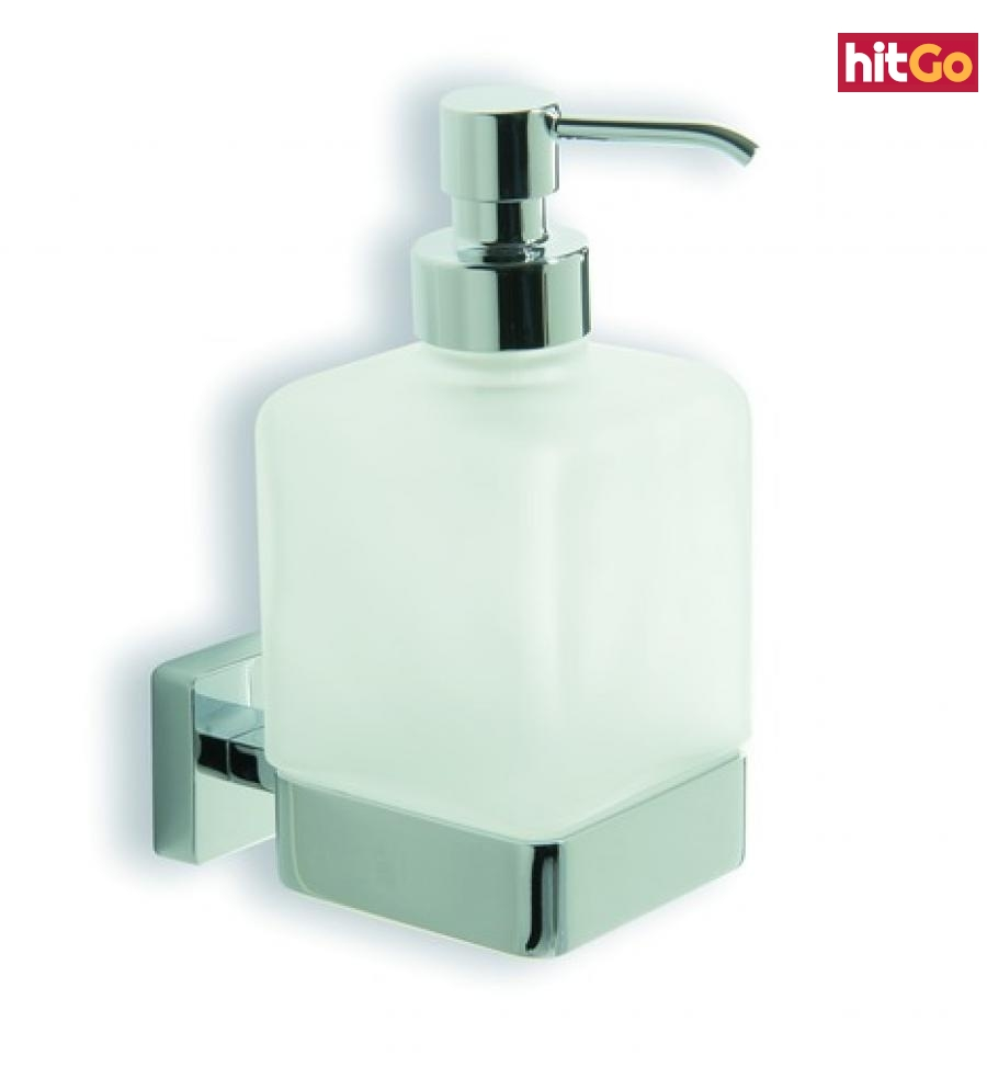 Dávkovač mýdla Inda Cubo chrom A29120CR21 chrom chrom