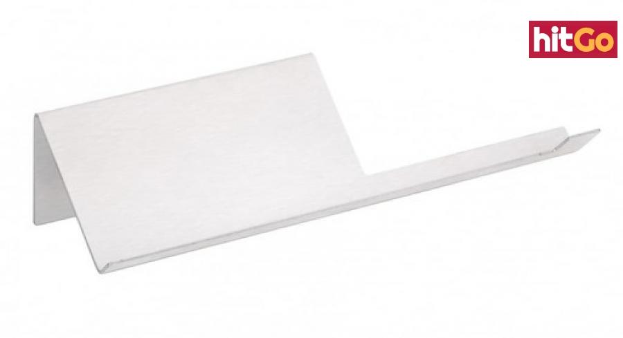 Držák toaletního papíru Bemeta Niva s držákemšířka 27 cm broušená nerez 101104015 ostatní broušená nerez