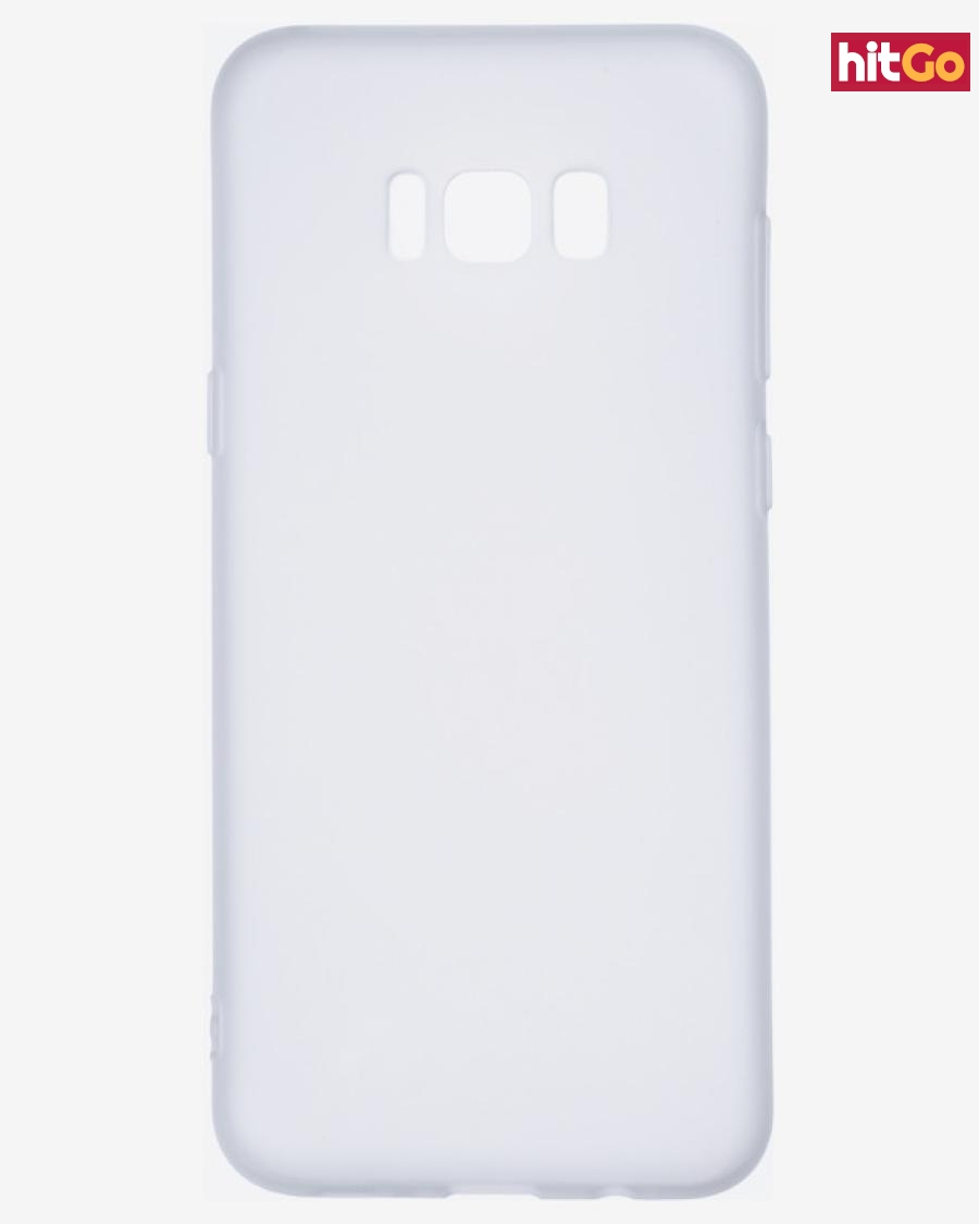 Epico Silk Matt Obal na Samsung Galaxy S8  Bílá pánské UNI