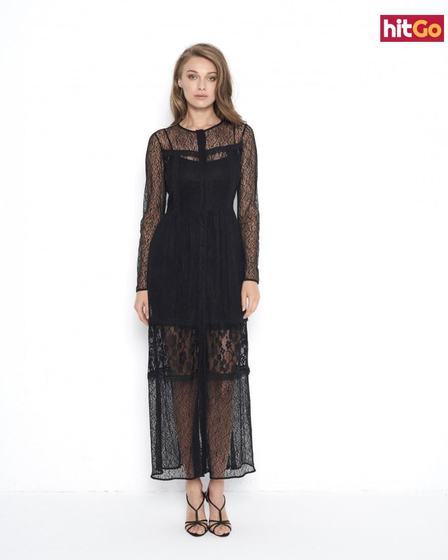 Ezuri Womans Dress 5630 dámské Black 38
