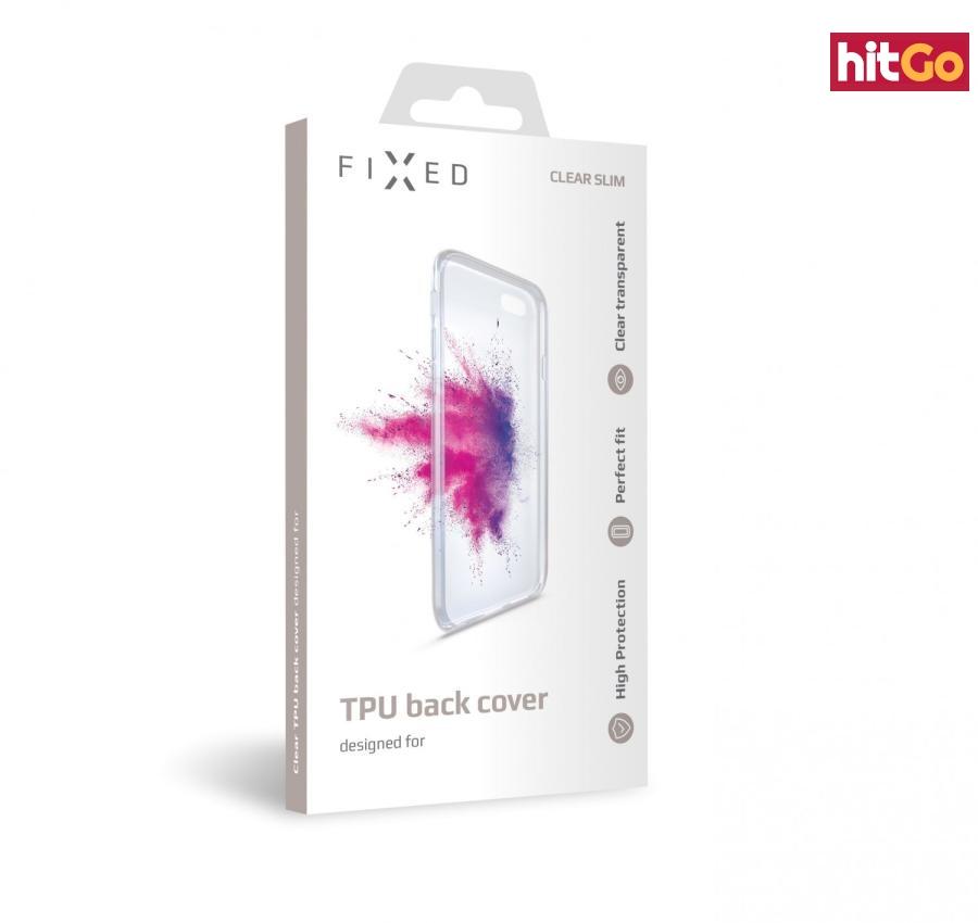 FIXED silikonové pouzdro pro Alcatel 1S , čiré