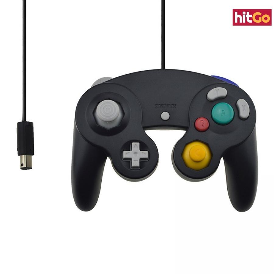 Gamepad pro Nintendo GameCube - 4 barvy Barva: černá