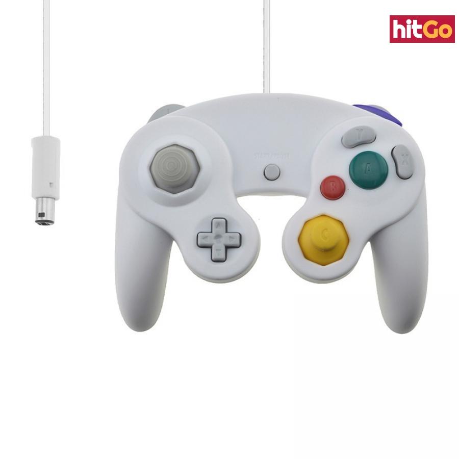 Gamepad pro Nintendo GameCube - 4 barvy Barva: oranžová