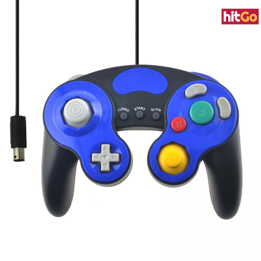 Herní ovladač pro Nintendo GameCube - 4 barvy Barva: bílá