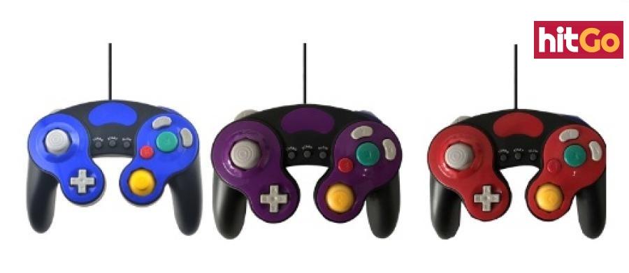 Herní ovladač pro Nintendo GameCube - 4 barvy Barva: modrá