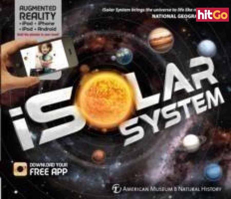 iExplore - iSolar System An Augmented Reality Book - Carlton Kids