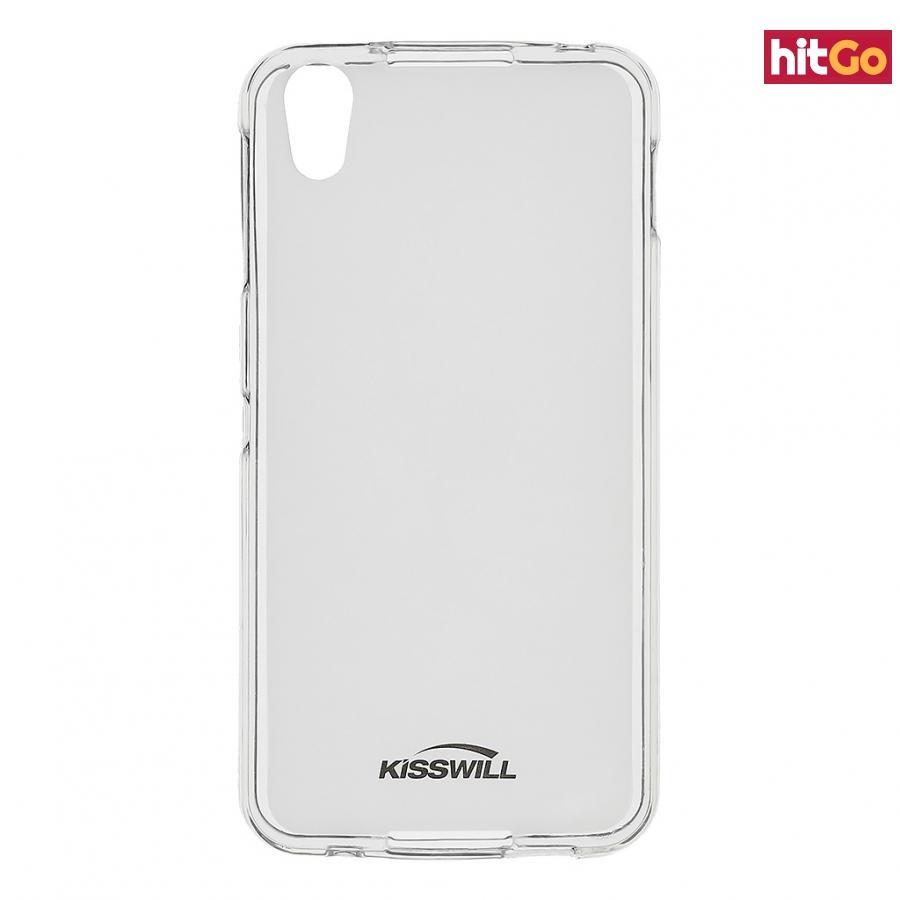Kisswill silikonové pouzdro pro Alcatel 6055 Idol 4  transparent
