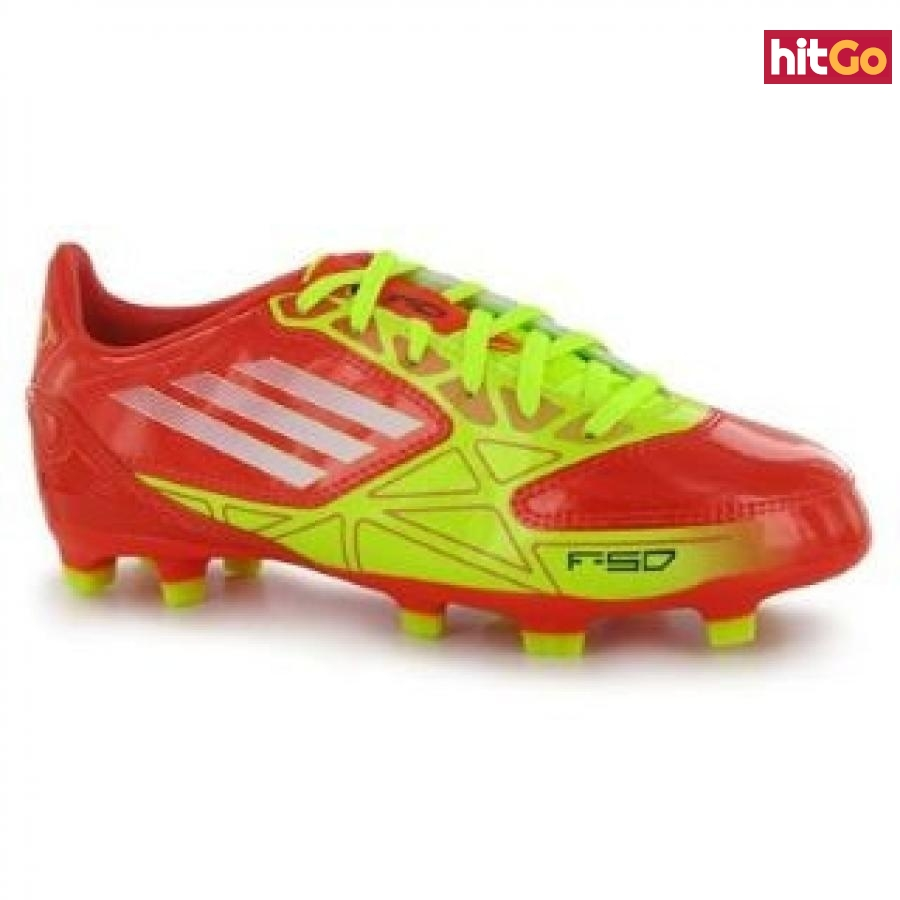 kopačky adidas F10 TRX FG Junior High Energy UK 5.5