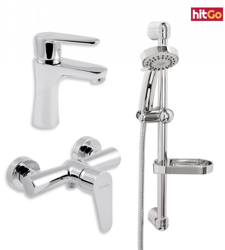 Koupelnová sada sprchová Novaservis Fresh SADA96061 chrom chrom
