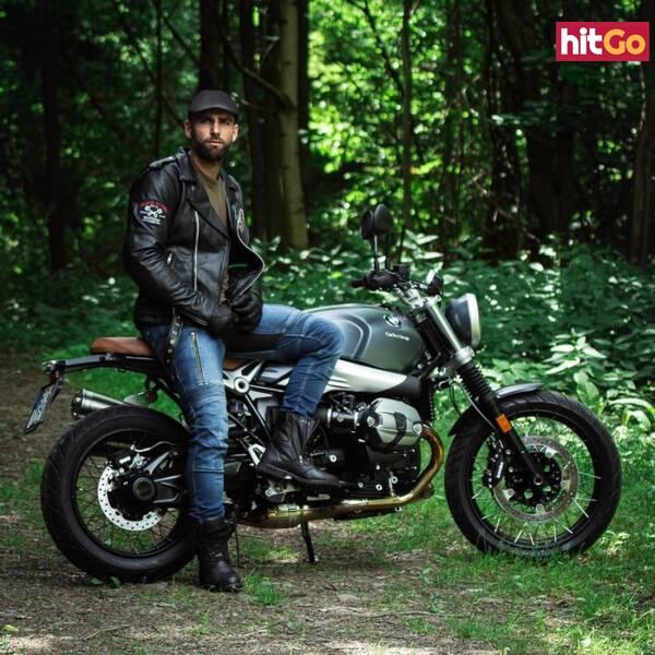 Kožená Moto Bunda W-Tec Black Heart Perfectis  Černá  L L