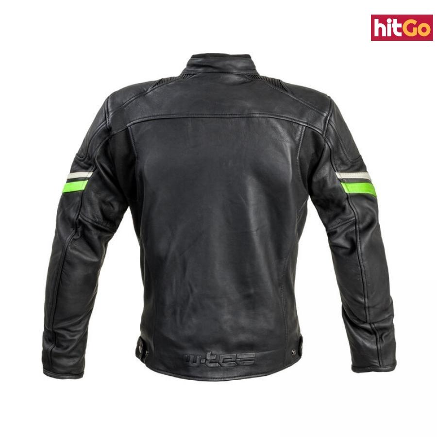 Kožená Moto Bunda W-Tec Montegi  Matně Černá  3Xl 3XL