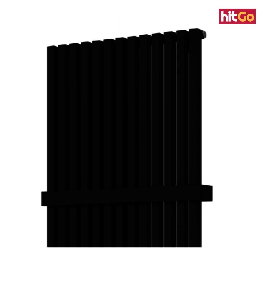 Madlo ISAN 46,2 cm kov černá mat O15MN5115 černá černá mat