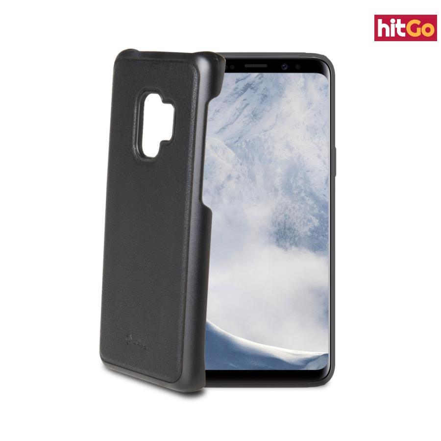 Magnetické pouzdro Celly Ghostcover pro Samsung Galaxy S9 černé