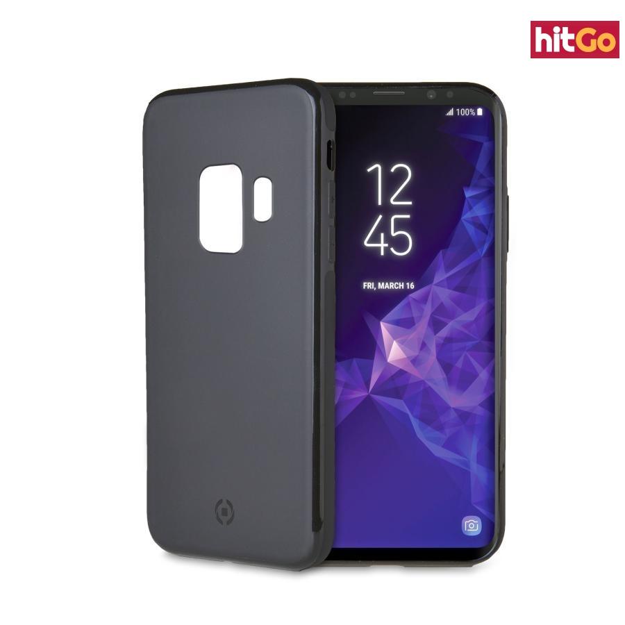 Magnetické TPU pouzdro Celly Ghostskin pro Samsung Galaxy S9 černé
