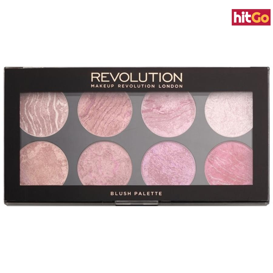 Makeup Revolution Blush paleta tvářenek odstín Blush Queen 13 g dámské 13 g