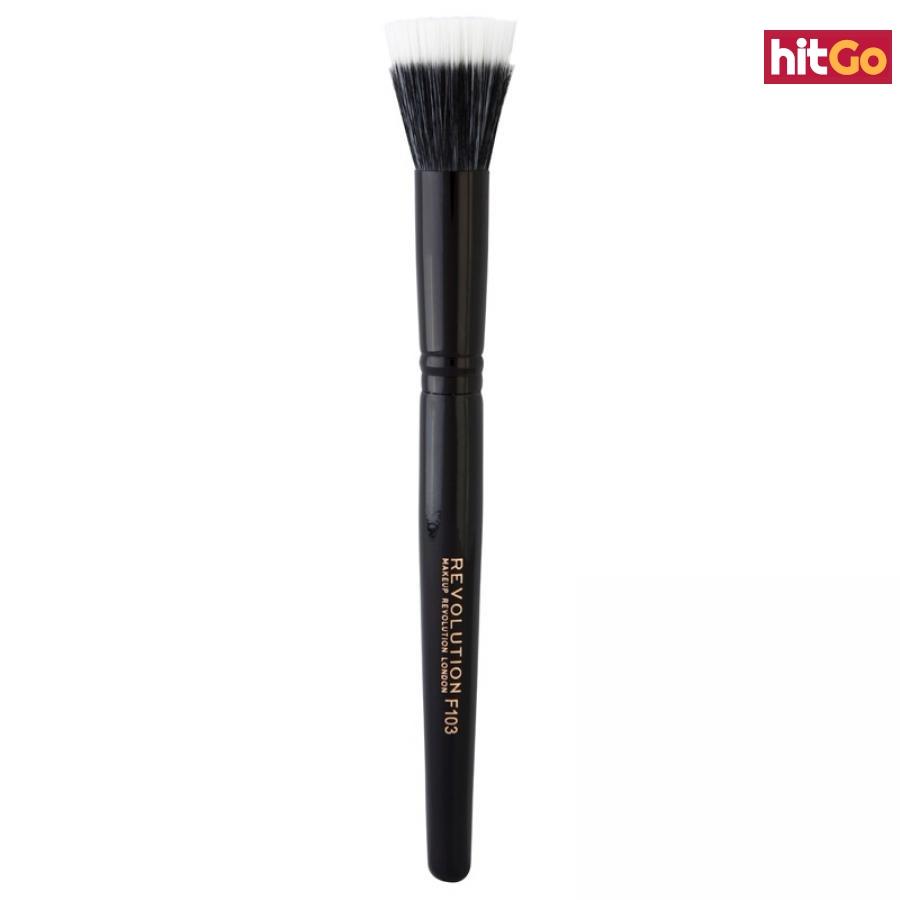 Makeup Revolution Brushes kulatý štětec na make-up a podkladovou bázi PRO F103 dámské