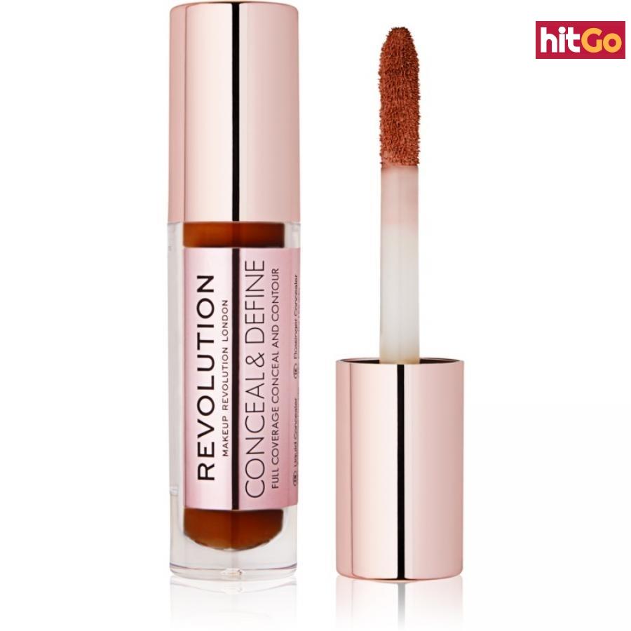 Makeup Revolution Conceal & Define tekutý korektor odstín C16 4 g dámské 4 g
