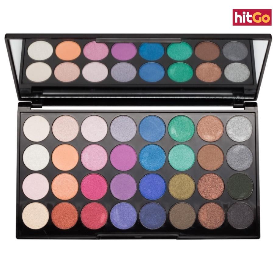 Makeup Revolution Mermaids Forever paleta očních stínů se zrcátkem 20 g dámské 20 g