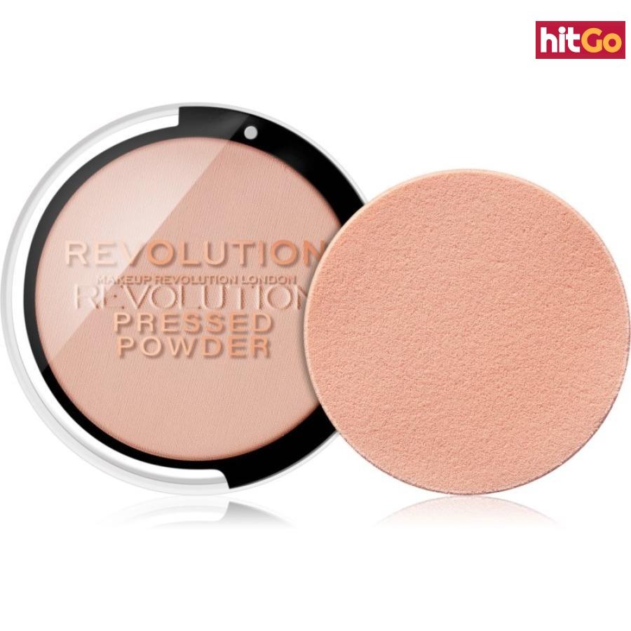Makeup Revolution Pressed Powder kompaktní pudr odstín Soft Pink 7,5 g dámské 7,5 g