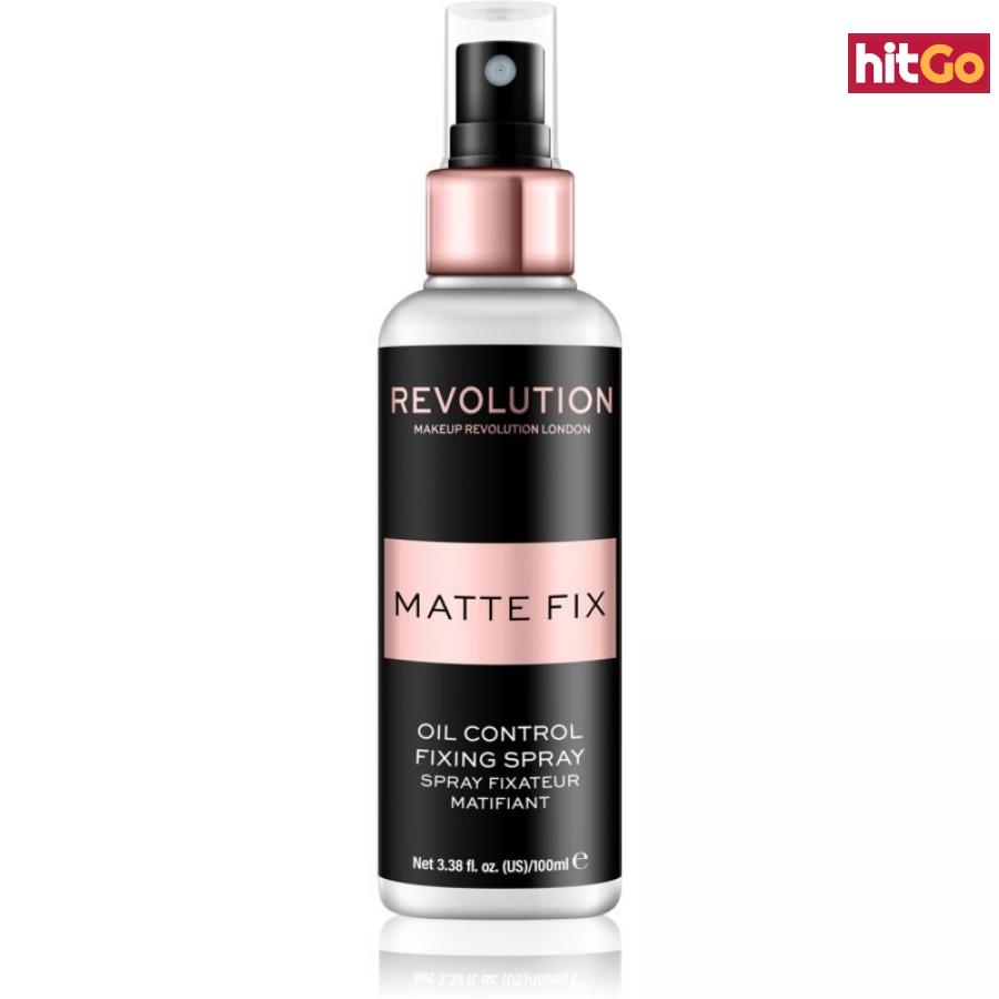 Makeup Revolution Pro Fix matující fixační sprej na make-up 100 ml dámské 100 ml