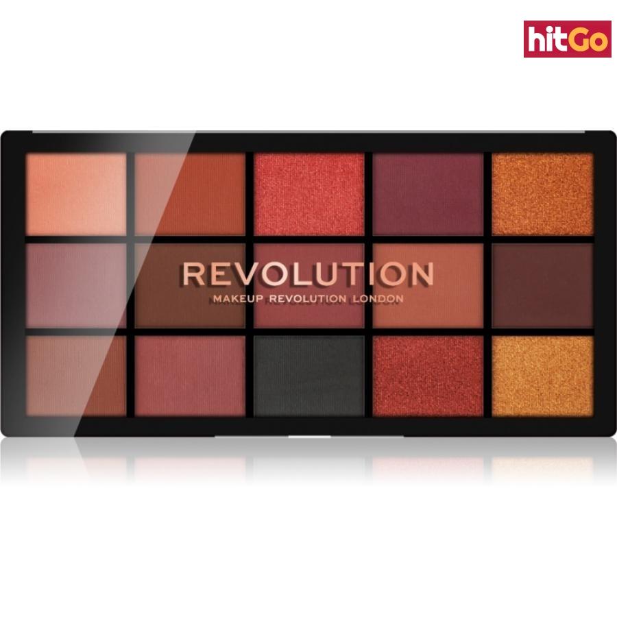 Makeup Revolution Reloaded paleta očních stínů odstín Newtrals 3 15 x 1,1 g dámské 15 x 1,1 g