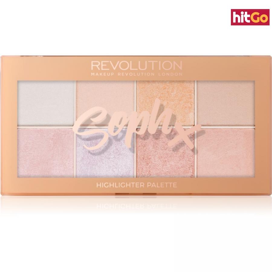 Makeup Revolution Soph X paleta rozjasňovačů 16 g dámské 16 g
