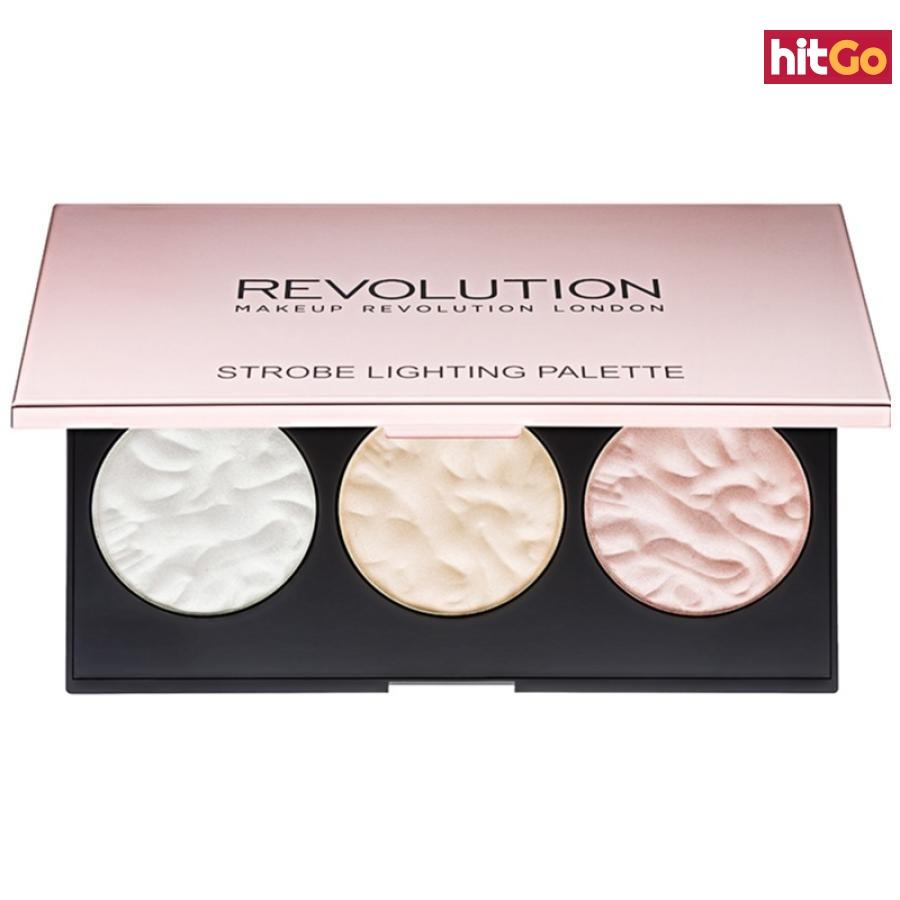 Makeup Revolution Strobe Lighting paleta rozjasňovačů 11,5 g dámské 11,5 g