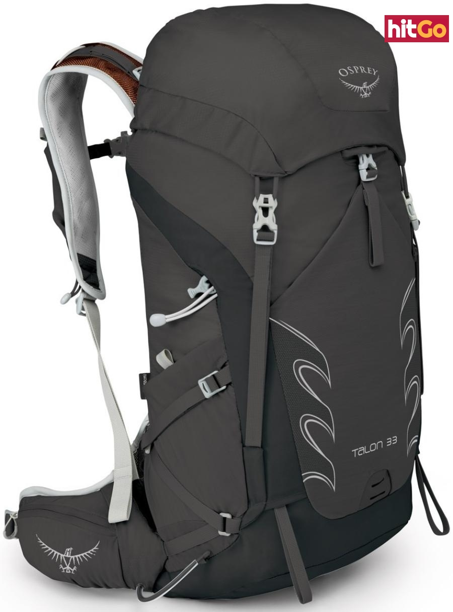 Mens backpack Osprey Talon 33 II černá 31 Litrů