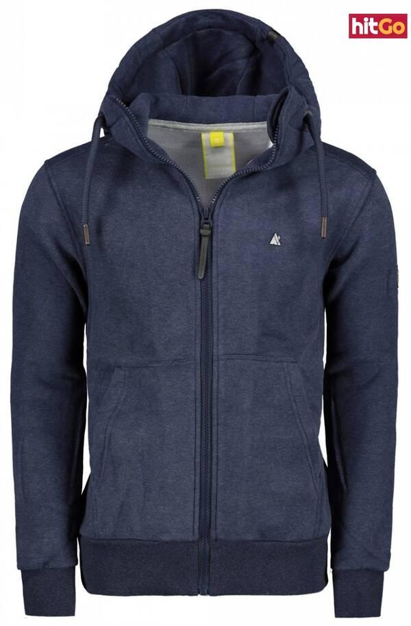 Mens hoodie Alife and Kickin Trasher A pánské Marine XL